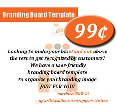 Get your branding board template to make your biz stand out doing it your way! You Got This, Just For You, Brand Board, Virtual Assistant, Boards, Branding, How To Get, App, Make It Yourself