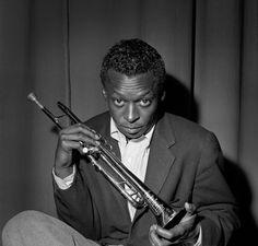 Miles Davis, by Herman Leonard  http://www.creativeboysclub.com/