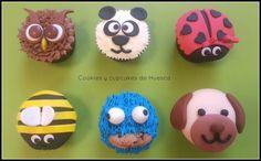 Cookies y cupcakes de Huesca: Cupcakes comenius