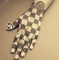 The mehndi designer creation, henna design original work