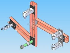 Bicycle frame jigs are used in production and hobbyist environments to assemble the tubes to build a frame. There are three jigs which are commercially sold for production work. The most common i...