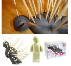 Perfect for a divorce party or Halloween party. Toothpick holder for appetizers!