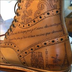Sweeney Tattoo - make your shoes unique with this personalisation service