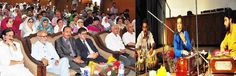 Education and RD Ministers witnessing cultural programme.