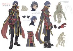 Character design by Roberto Ferrari
