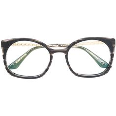 69f9f2bbff32 Robert La Roche Fab glasses ( 655) ❤ liked on Polyvore featuring  accessories