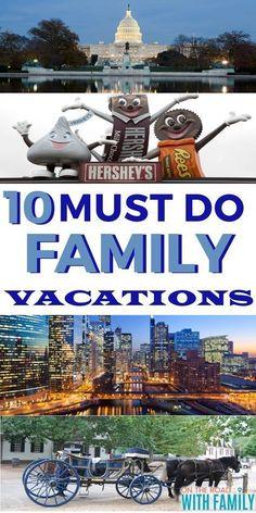 10 Must See Familienurlaub - US Family Vacations - Us Family Vacations, Best Family Vacation Destinations, Vacations In The Us, Vacation Trips, Travel Destinations, Family Trips, Family Summer Vacation Ideas, Fun Vacation Spots, Vacation Ideas For Families