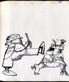Alfred Jarry, Ubu Roi, Le Club du meilleur livre, Paris, 1958, 194 p. Avec 20 dessins originaux d'André François.