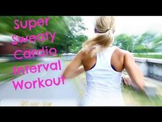 My FAVORITE Super Sweaty Cardio Workout | Running Interval Workout