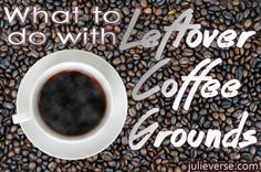 What to do with leftover coffee grounds (plus! free Starbucks samples in Philadelphia in February!)