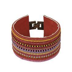 Bracelete étnico largo