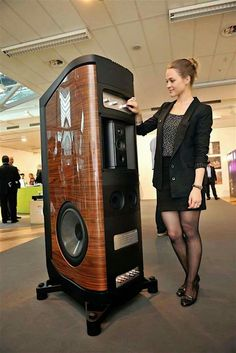 The Sonus faber flagship speaker...