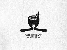 100个红酒Wine元素LOGO设计搜集