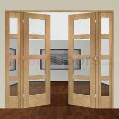Image of Easi-Frame Oak Door Set, GOSHA4L-COEOP3, 2005mm Height, 2214mm Wide.
