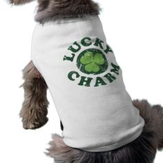 Lucky Charm Doggie Tshirt in each seller & make purchase online for cheap. Choose the best price and best promotion as you thing Secure Checkout you can trust Buy bestThis Deals          Lucky Charm Doggie Tshirt today easy to Shops & Purchase Online - transferred directly secure and...