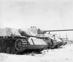 A Stug IV Lang Version and a Panther V Ausf A