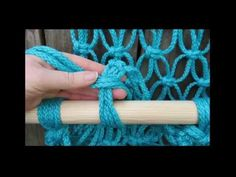 (151) How to Make Macrame Hammock from pictures   Hammock stand from pictures - YouTube