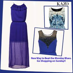Play the Blues the KAZO way with our new collection.