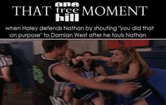 Love this OTH scene where Haley's protecting her man- Nathan! Freakin' LOVE this couple and clearly they have such GREAT chemistry between them -James Lafferty and Joy Lenz!!! :))) <3