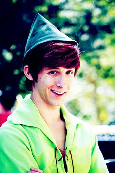 Andrew Ducote is Spieling Peter Pan Disney Day, Disney Love, Disney Magic, Disney Pixar, Disney Stuff, Peter Pan Disneyland, Jeremy Sumpter, Disney Face Characters, Disney Facts