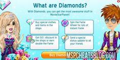 Free MSP Diamond Cheats - http://mspcheatsblog.com/moviestarplanet-how-to-guides/