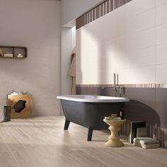 Bagno Model  - colore Trendy  e decoro Plissé http://www.supergres.com/your-home/rivestimenti/item/926-model  #Bathroom #RivestimentoBagni #WallTiles #CeramisOfItaly
