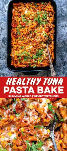 Healthy Tuna Pasta Bake – Supergolden Bakes You only need a handful of store cupboard ingredients to create this healthy tuna pasta bake! Slimming World and Weight Watchers friendly and kid approved! Healthy Pasta Bake, Healthy Tuna, Healthy Pastas, Healthy Baking, Healthy Recipes, Healthy Food, Slimming World Tuna Pasta, Slimming World Fish Recipes, Slimming World Dinners