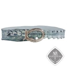 Global Wealth Trade Corporation - FERI Designer Lines Wealth, Turquoise Bracelet, Exotic, Luxury, Metal, Gold, Leather, Accessories, Jewelry