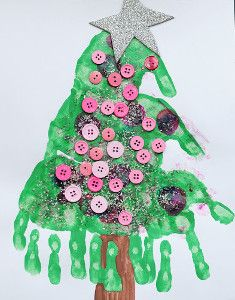 Lend a Hand Christmas Trees tutorial by Meet the Dubiens. This fun idea proves that simple Christmas crafts for kids dont have to be boring. Kids Crafts, Preschool Christmas Crafts, Daycare Crafts, Tree Crafts, Christmas Activities, Christmas Projects, Christmas Themes, Holiday Crafts, Holiday Fun