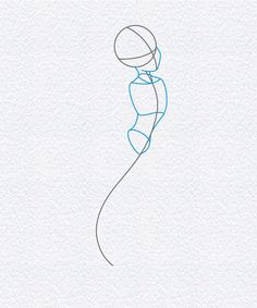 how to draw ariel the little mermaid, step 2