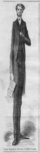 Long Abraham Lincoln A Little Longer Congress Address 1864 Abe Lincoln History   eBay