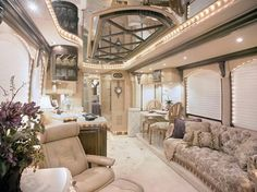 I could travel this way... the ultimate RV!  Ok, but I'll need a driver!