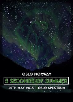 Oslo's ROWYSO limited edition poster