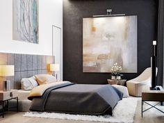 Big Eco-Minimalist House with Scandinavian Spirit Dream House Pictures, Master Bedroom Design, Bedroom Carpet, Scandinavian Interior, Minimalist Home, Minimalist Scandinavian, Cheap Home Decor, Home Decor Accessories, Living Room Decor