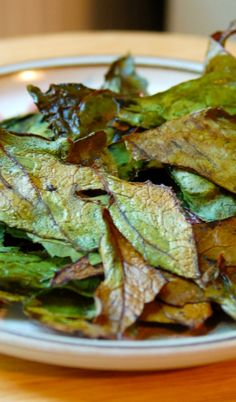 Rainbow Chard Chips by Plum Yum Healthy Cooking, Healthy Snacks, Healthy Recipes, Healthy Eats, Recipes Based On Ingredients, Rainbow Chard, Best Dishes, Side Dishes, Lunch Snacks