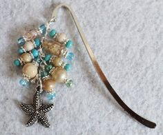 Beaded Bookmark  STARFISH by uniquelyyours2010 on Etsy, $12.50