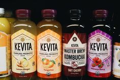 Kevita Probiotic drinks are some of our faves. Healthy for your gut and delicious at the same time. How do you take your probiotics?