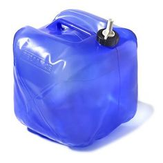 Reliance Fold-A-Carrier Water Carrier - 5 gal. Camping Survival, Survival Gear, Survival Skills, Camping Gear, Backpacking, Camping Stuff, Gallon Water Jug, Modern Farmer, Camping Water