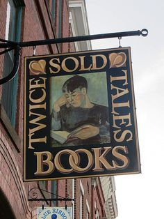 .book shop sign