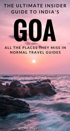 Beaches, style, parties, things to do solo, with friends, with family... here's my ULTIMATE, insider guide to Goa, India. #Goa #India
