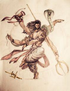 Lord Shiva - Akhilesvara