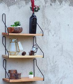 Untuk mempercantik dinding rumah kamu.  .  In Frame : Hanging Shelf