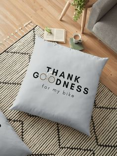 I don't know what I would do without it. • Millions of unique designs by independent artists. Find your thing. Floor Pillows, Throw Pillows, Inhale Exhale, Anti Stress, Mask For Kids, Pillow Design, Typography, Lettering, Sell Your Art