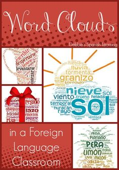 Debbie's Spanish Learning: Seven Ways to Use Word Clouds in a Language Classroom