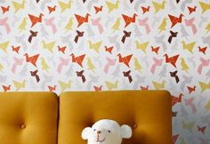 A Nod to Origami in Kids' Decor