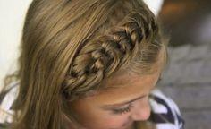 PEINADOS CON TRENZA DE NUDOS : Peinados y cortes de cabello
