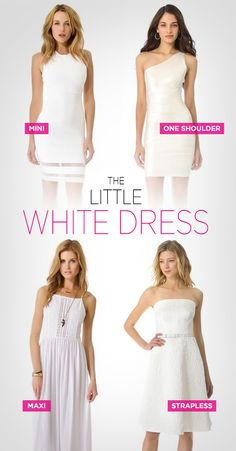 3717362284e Summer Staple  The Little White Dress Graduation Party Outfits