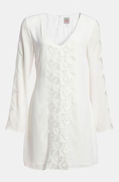 RBL Embroidered Shift Dress   Nordstrom