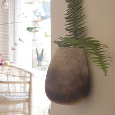 Ceramic Wall Planter – Housefolk Ceramic Wall Planters, Concrete Planters, Ceramic Bowls, Pottery Studio, Wall Pockets, Diy Clay, Clay Art, Garden Projects, Botanical Gardens