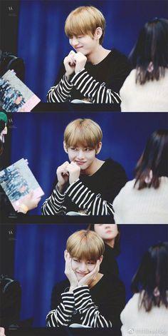 V | Kim Taehyung - He's so cute! Too cute! What a puppy~~